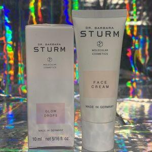 Sealed in box BARBARA STURM glow drops & new cream